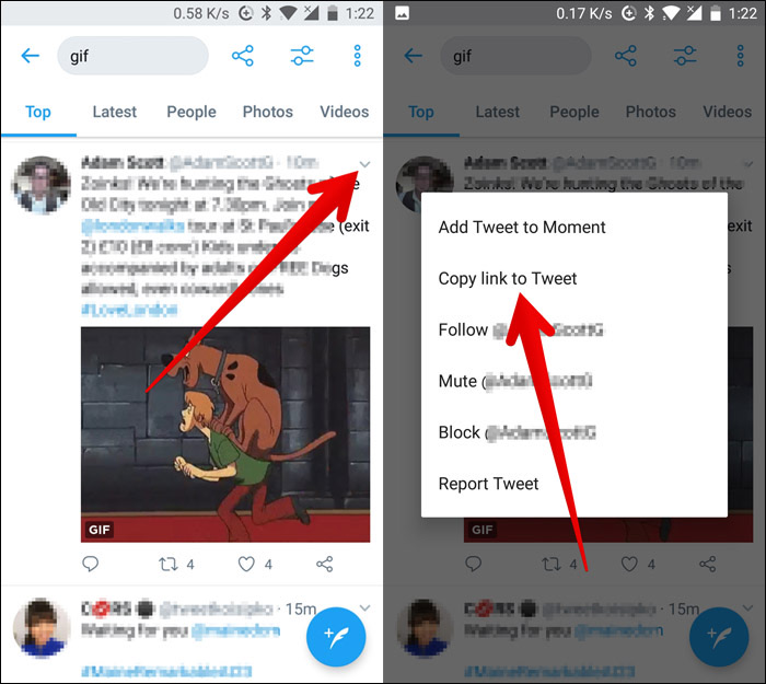 How to save video from twitter on the iPhone?