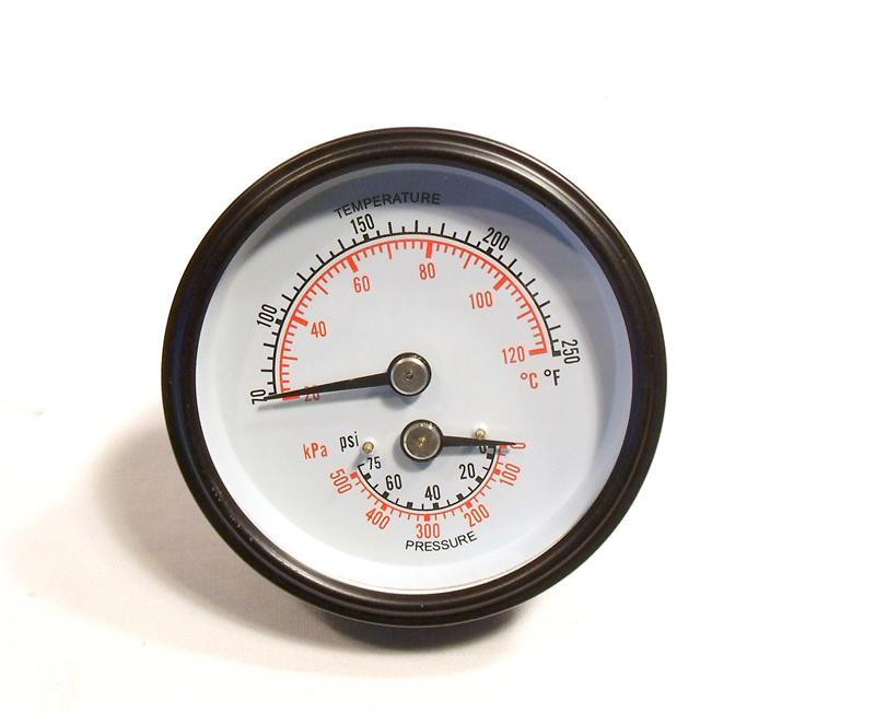 What is a pressure gauge?