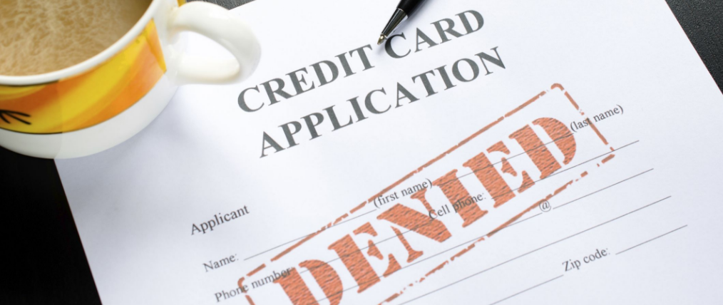 5 Common Reasons Why Credit Card Applications are Denied