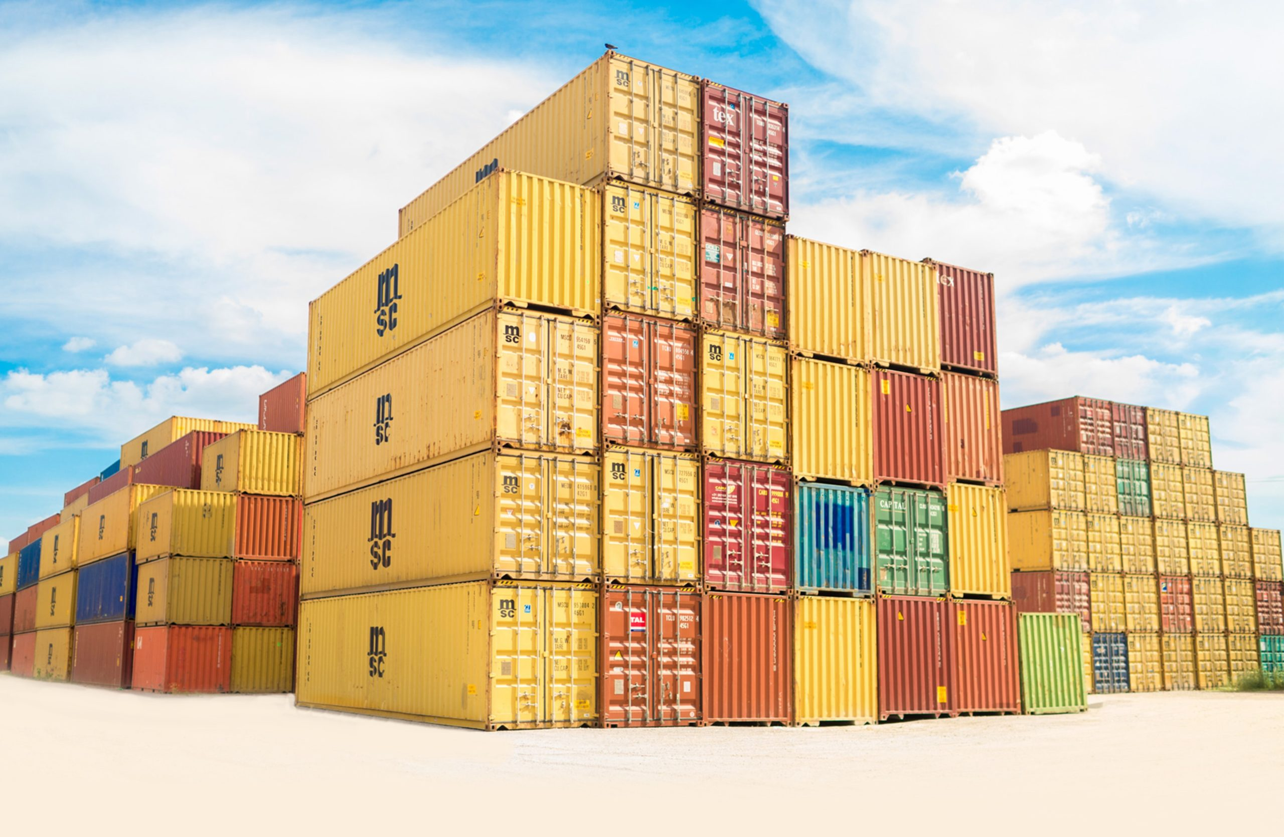 How to inspect the storage containers before renting them out?