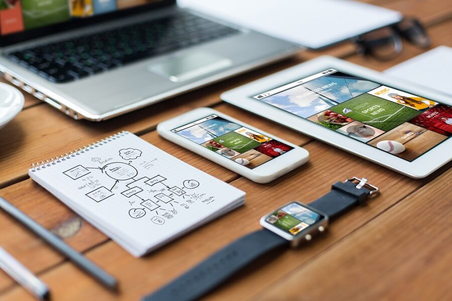 Top four tips to achieve an eye-catching professional website design