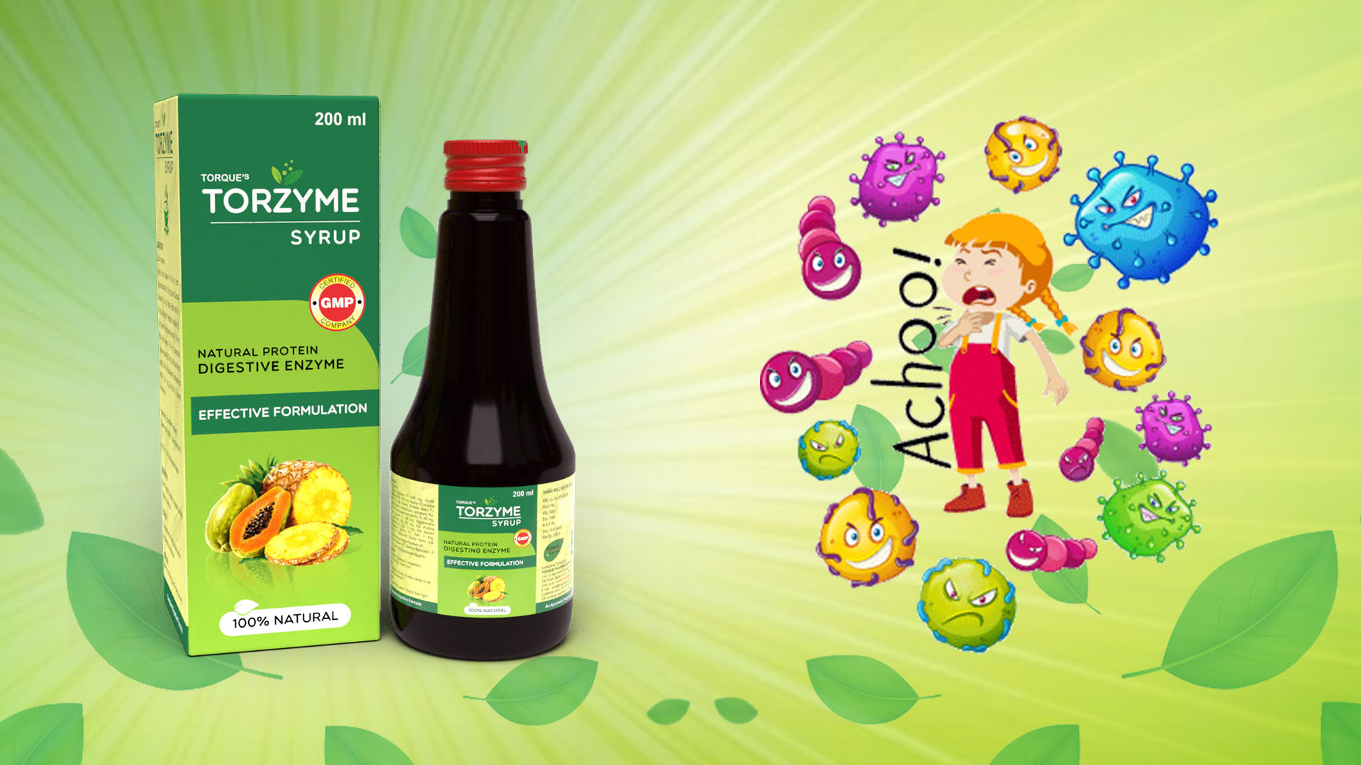 Syrup that deals with your digestive issues