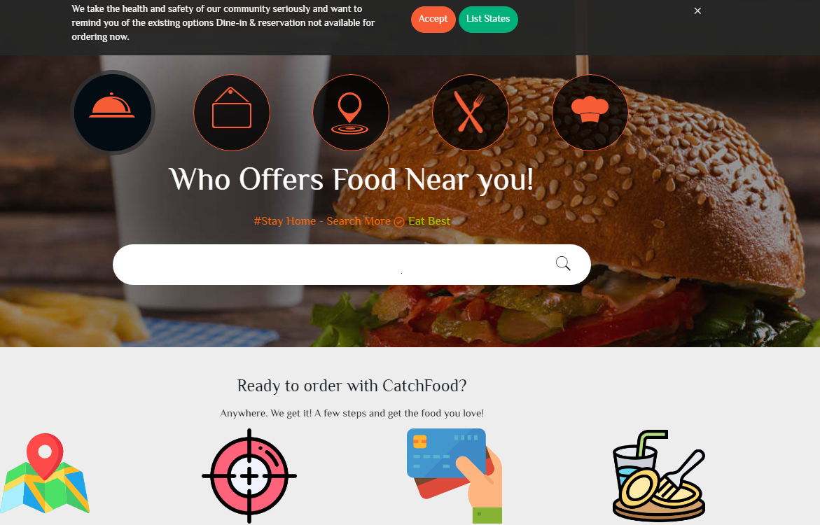 CatchFood Offers Discovering the Food of Your Taste Online